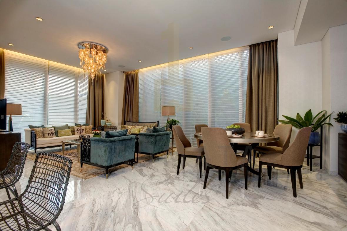 Saumata Suites Alam Sutera Serpong memiliki Ruang Keluarga yang lapang dari pada Yukata Suites dan One Velvet