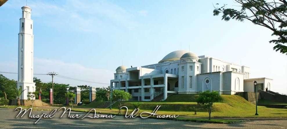 masjid dalam kawasan alam sutera support facility bagi Saumata suites