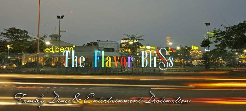 The Flavor Bliss alam sutera dekat saumata suites
